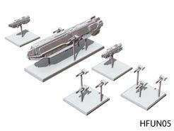 Halo: Fleet Battles – UNSC Punic-Class Supercarrier