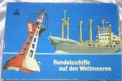 Handelsschiffe auf den Weltmeeren