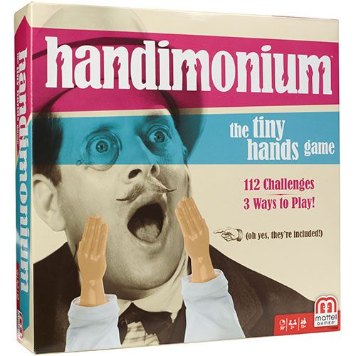 Handimonium: The Tiny Hands Game