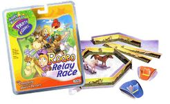 Happy Birthday Party Games Rodeo Relay Race