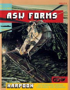 Harpoon: ASW Forms – Antisubmarine Warfare Data Sheets and Scenarios