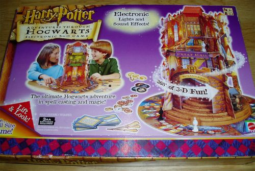 Harry Potter: Adventures Through Hogwarts Electronic 3-D Game