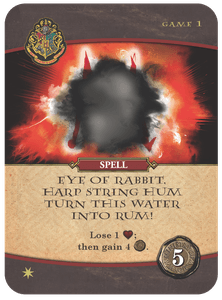 Harry Potter: Hogwarts Battle – Spell: Eye of Rabbit, Harp String Hum, Turn This Water Into Rum!