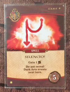 Harry Potter: Hogwarts Battle – Spell: Silencio!