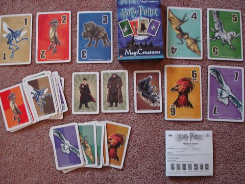Harry Potter MagiCreatures Card Game