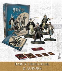 Harry Potter Miniatures Adventure Game: Barty Crouch Sr. & Aurors Expansion
