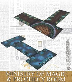 Harry Potter Miniatures Adventure Game: Ministry of Magic and Prophecy Room