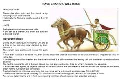 Have Chariot Will Race