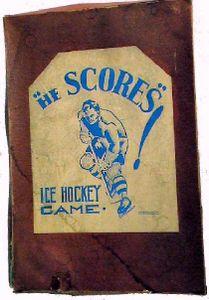 He Scores Ice Hockey Game