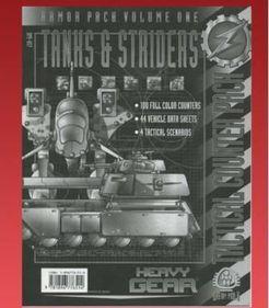 Heavy Gear Armor Pack Volume One: Tanks & Striders
