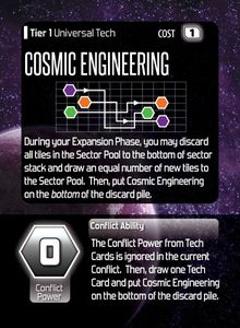 Hegemonic Promo Card: Cosmic Engineering