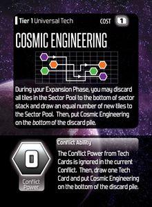 Hegemonic Promo Card: Cosmic Engineering