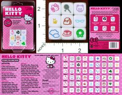 Hello Kitty Story Telling Dice
