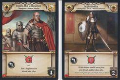 Hero Realms: Centurion Promo & 4 Legionnaire Cards