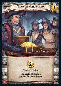Hero Realms: Contract Negotiation Promo Card