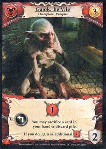 Hero Realms: Galok, the Vile Promo Card