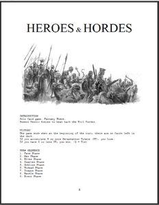 Heroes & Hordes