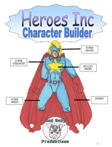 Heroes Inc 4: Character Builder