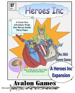 Heroes Inc 5: Master Mind's Revenge