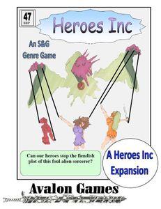 Heroes Inc 7: Mystic Pain