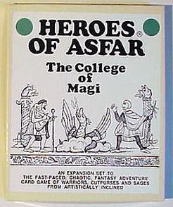 Heroes of Asfar: The College of Magi