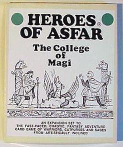 Heroes of Asfar: The College of Magi