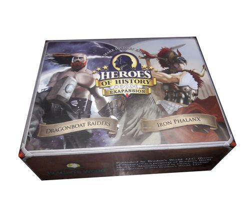 Heroes of History: Iron Phalanx vs. Dragonboat Raiders
