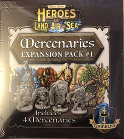 Heroes of Land, Air & Sea: Mercenaries Expansion Pack #1