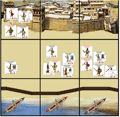 Heroes of Troy: A Game of the Trojan War for One to Two Players.