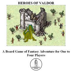 Heroes of Valdor: A Board Game of Fantasy Adventure