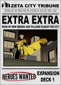 Heroes Wanted: Extra, Extra