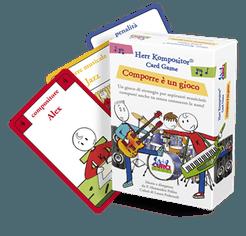 Herr Kompositor Card Game: Comporre è un gioco