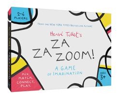 Hervé Tullet's ZaZaZoom!: A Game of Imagination