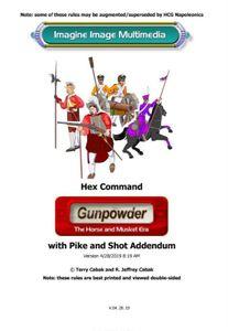 Hex Command: Gunpowder – The Horse and Musket Era with Pike and Shot Addendum