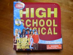 High School Musical 2 CD Board Game