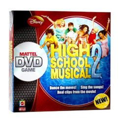 High School Musical 2 DVD Game