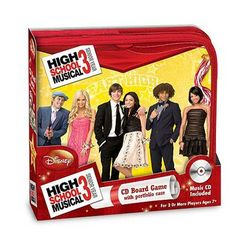 High School Musical 3 CD Board Game