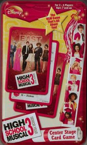 High School Musical 3: Center Stage Card Game