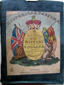 Historical Pastime a new game of the History of England from William I to William IV