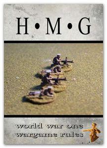 HMG World War One wargame rules