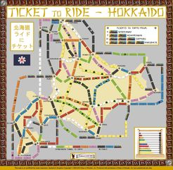 Hokkaido (fan expansion to Ticket to Ride)