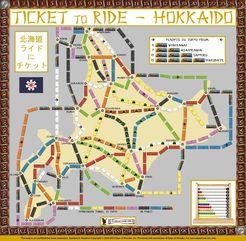 Hokkaido (fan expansion to Ticket to Ride)