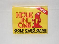 Hole in One Golf Card Game