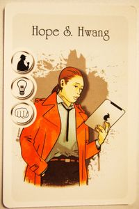 Holmes 13: Hope S. Hwang Promo Card