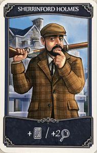 Holmes: Sherlock & Mycroft – Sherrinford Holmes Promo Card