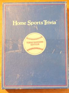 Home Sports Trivia: Texas Rangers Edition