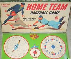 Home Team Baseball Game