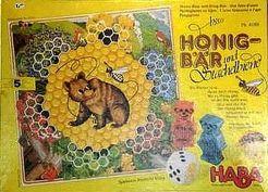 Honigbär und Stachelbiene