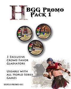 Hoplomachus: Crowd Favor Gladiators – BGG Promo Pack 1
