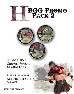Hoplomachus: Crowd Favor Gladiators – BGG Promo Pack 2